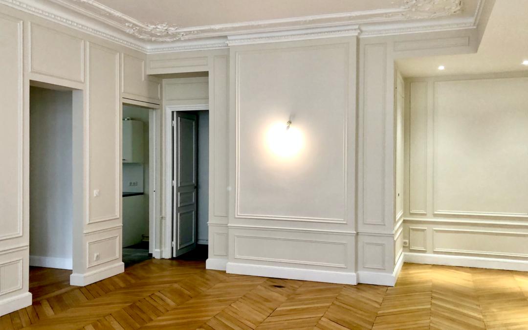 L'art et la manière de rénover un appartement haussmannien