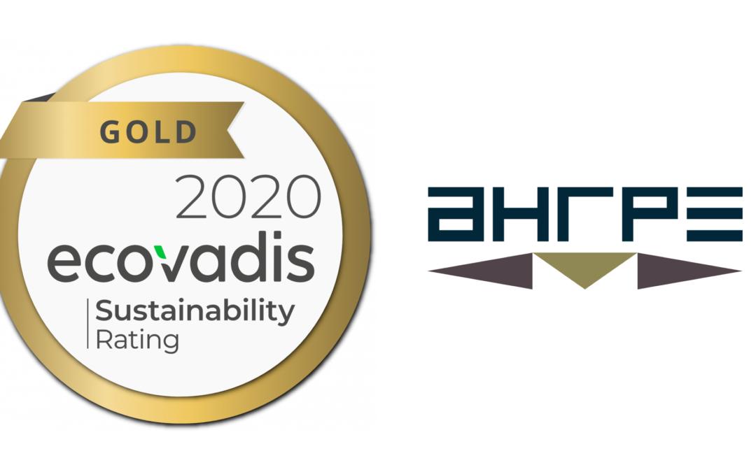 Avec EcoVadis, AHRPE affirme son engagement RSE, environnemental et éthique