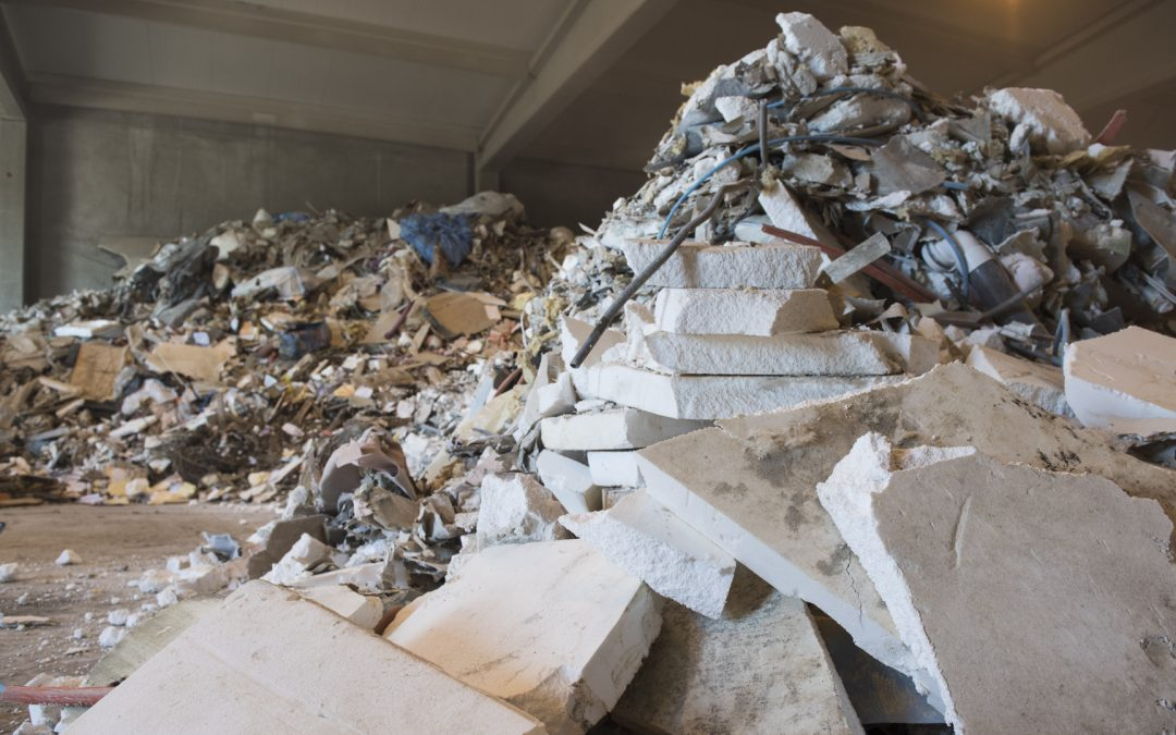 Le recyclage des déchets du bâtiments